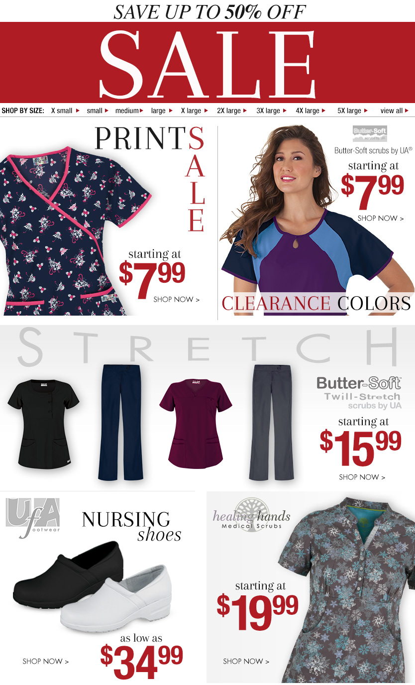 Scrubs Clearance Sales